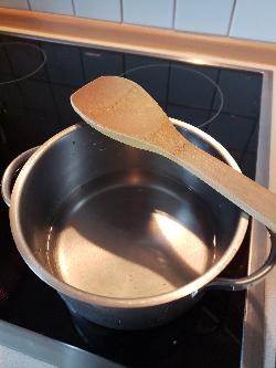 Geschirrspülmittel- Schritt 2