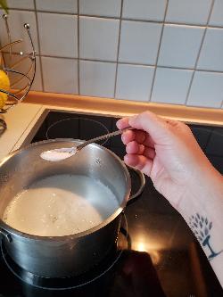 Geschirrspülmittel- Schritt 4